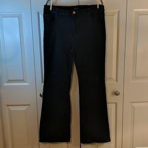 Forever 21 plus size 18 tall bootcut dark denim
